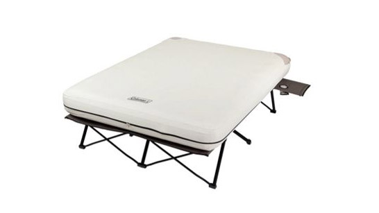 coleman raised blow up mattress