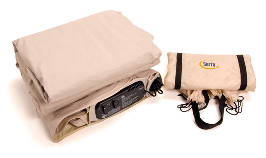 Serta Raised Air Bed Unpacked