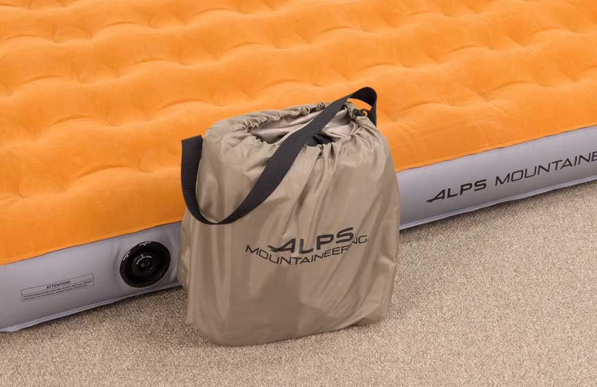 ALPS Rechargeable pump - side view