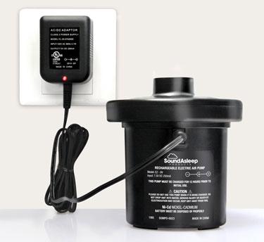 pump charging