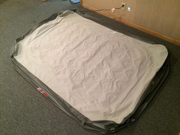 california king size air mattress fox deflated