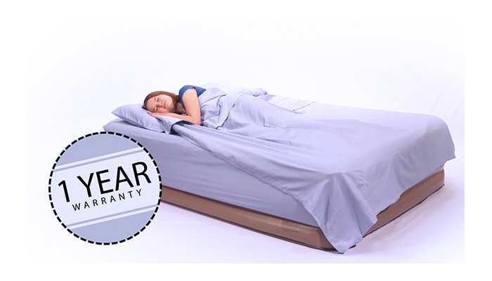 Insta Bed Raised Air Mattress with Never Flat Technology 1 Year Warranty