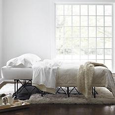 air mattress with frame home setting