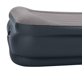 raised pillowrest intex blow up bed