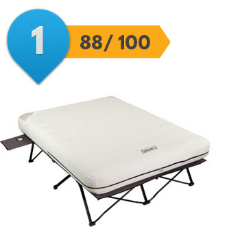 top airbed with frame