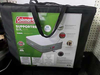 Coleman Supportrest Quilted Top Airbed Queen
