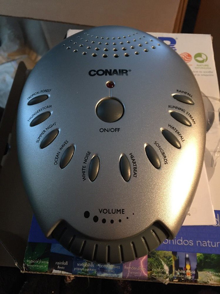 Conair Sound Machine
