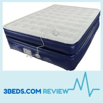 aerobed premiere inflatable bed front view