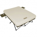 coleman airbed white front