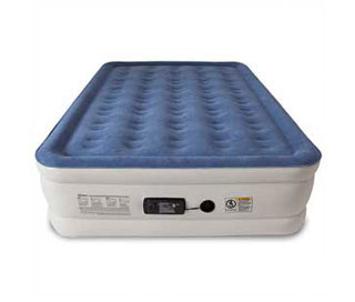 queen size airbed sound asleep