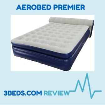 second top rated aerobed - the Premier top view