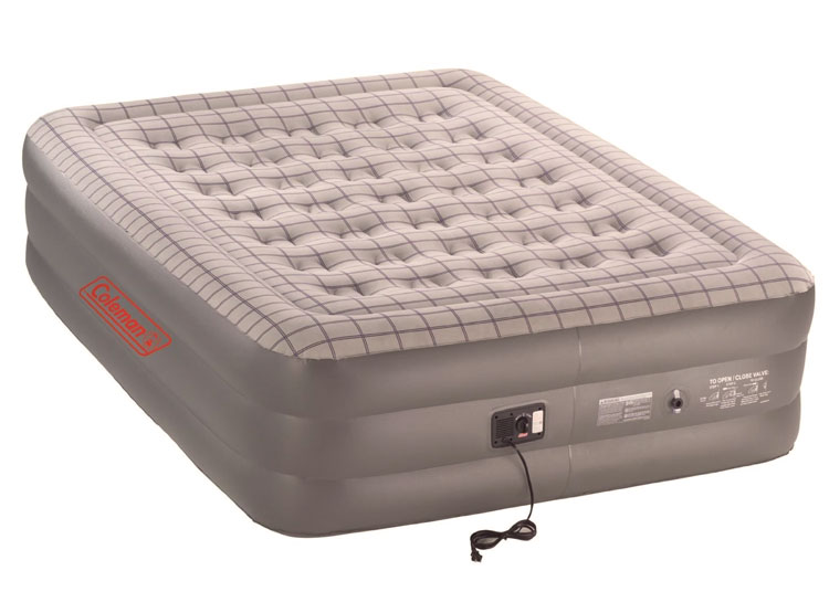 rated most reliable coleman double high airbed
