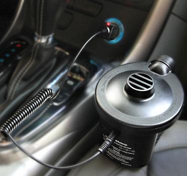 pump car recharging
