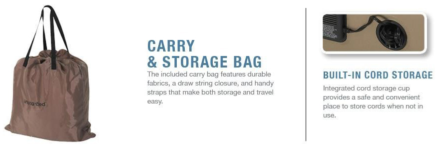 carry bag cord storage