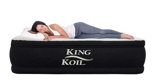 coil California king air mattress