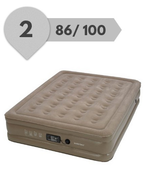 best insta air mattress the raised never flat