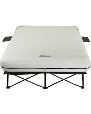 coleman queen airbed cot frame