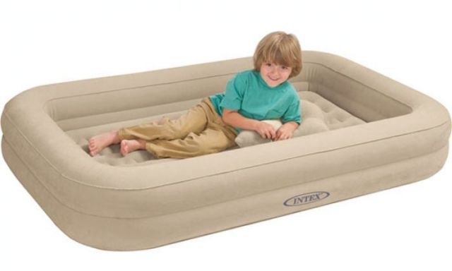 air mattress with sides Toddler/Kid Air Mattress & Travel Bed   We tested 14, these are  air mattress with sides