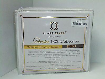 Clara Clark 1800 Premier Series white